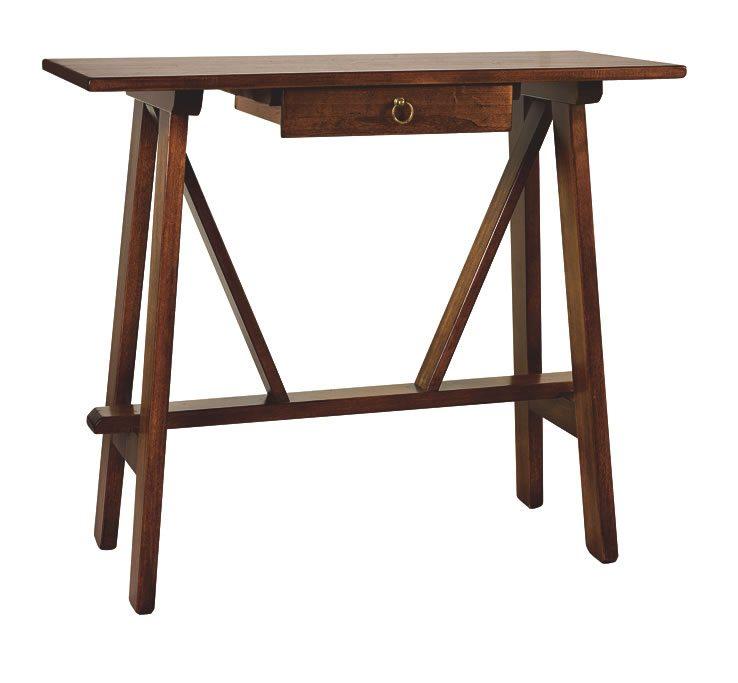 Tavolino basamento a capretta