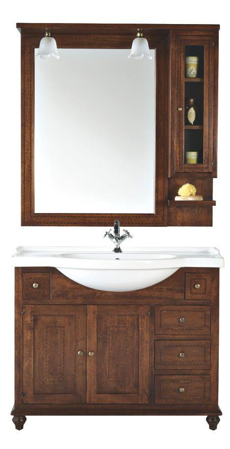 Mobile bagno giove sottolavello artlegno - Sottolavello bagno ...