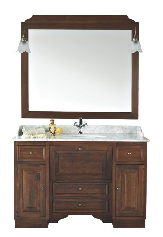 Mobile bagno rusty sottolavello artlegno - Mobile sottolavello bagno ...