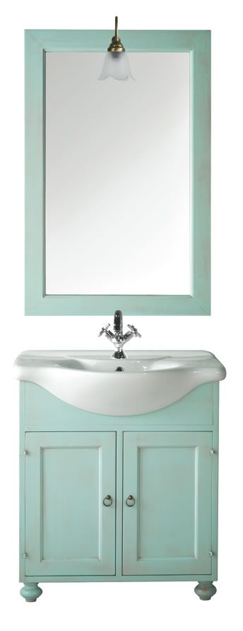 Mobile bagno ducale sottolavello artlegno - Mobile sottolavello bagno ...