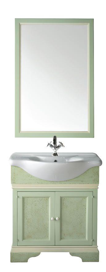 Mobile bagno venere sottolavello artlegno - Mobile sottolavello bagno ...