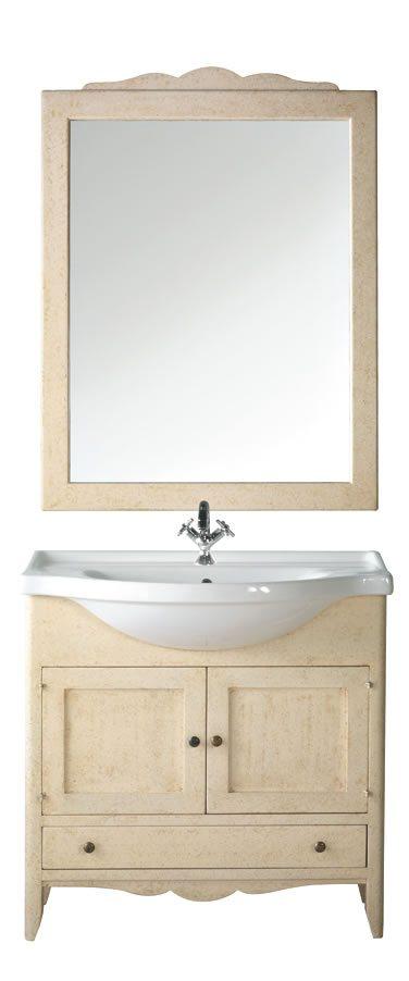 Mobile bagno saturno sottolavello artlegno - Sottolavello bagno ...