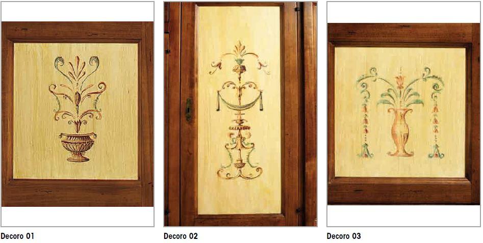 Decorazioni per mobili dipinti artlegno - Decori in legno per mobili ...